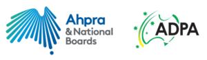 AHPRA and ADPA Logos